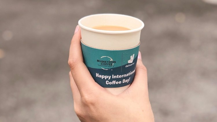 Order in a Barista with Deliveroo for Business this International Coffee Day