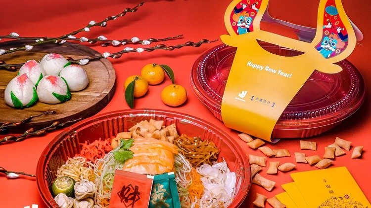 Happy Niú Year! Take Charge Of The New Year With Deliveroo's Limited-Edition Year Of The Ox Yusheng Kits