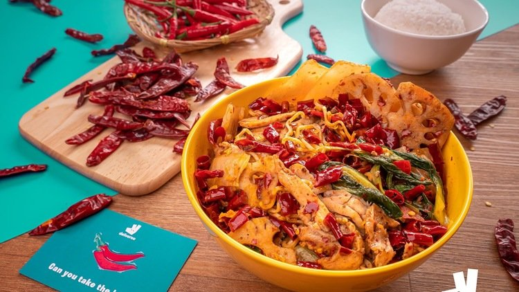 Embrace the heat with Deliveroo and Good Taste Mala Hotpot this National Chilli Day