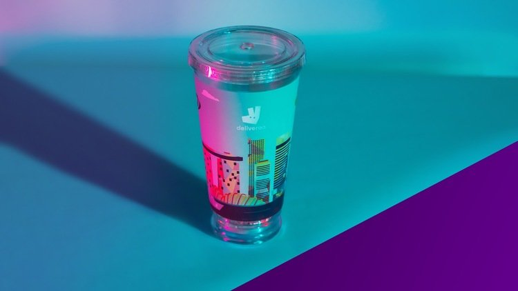 Light Up the Night with Deliveroo's Limited Edition Light-Up Tumblers