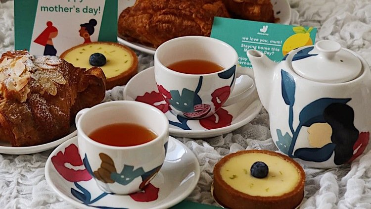 Mum's The Word: Treat Mum With A Lovingly Painted Tea Set From Deliveroo This Mother's Day
