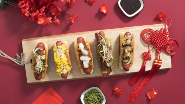 Deliveroo Celebrates Year of the (Hot) Dog