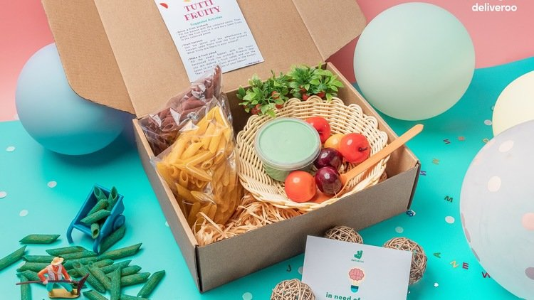 Food for thought: Be edu-tained with Deliveroo's Limited Edition Brain Boxes