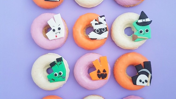 Deliveroo Serves Up Trick or Treat Donuts This Halloween