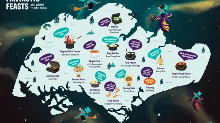 Deliveroo Unveils Fantastic Feasts and Where to Find Them