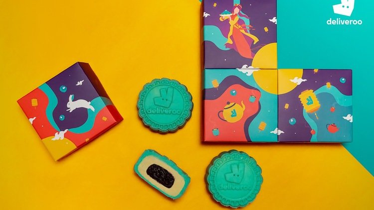 Deliveroo Creates Limited Edition Mooncakes for Mid-Autumn Festival 2019